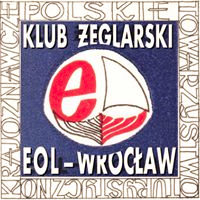 logo klubu żeglarskiego EOL